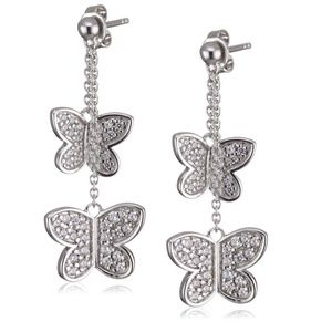 Esprit Shiny Butterfly Earrings